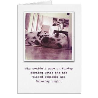 Indulge on your Birthday. Card