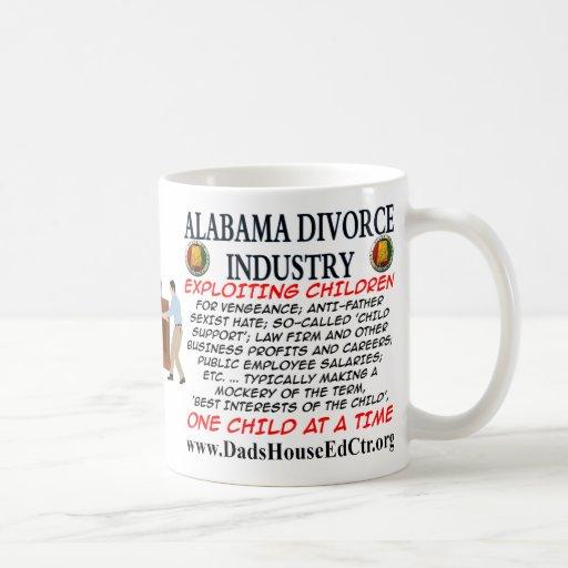 Industria del divorcio de Alabama Taza De Café