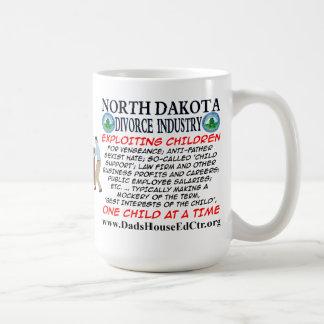 Industria del divorcio de Dakota del Norte Tazas