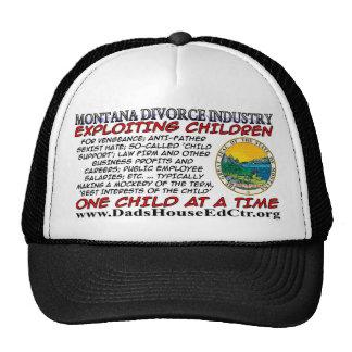 Industria del divorcio de Montana Gorro