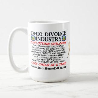 Industria del divorcio de Ohio Tazas