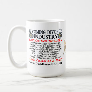 Industria del divorcio de Wyoming Tazas De Café