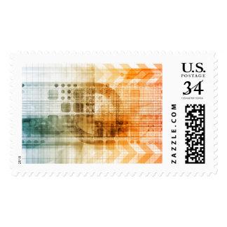Industria farmacéutica con la investigación de la sellos