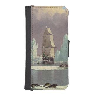 Industria pesquera septentrional de la ballena: fundas tipo billetera para iPhone 5