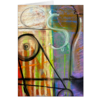 Industrial Alchemy Machine note card by Brad Hines