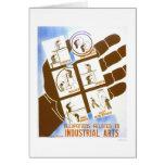 Industrial Arts Jobs 1936 WPA Card