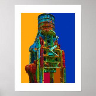 Industrial Arts Machine-Print Poster