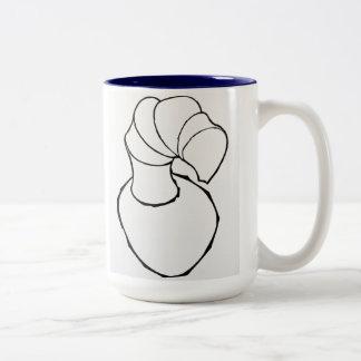 """""""Industrial Bowl"""" Two-Tone Coffee Mug"""