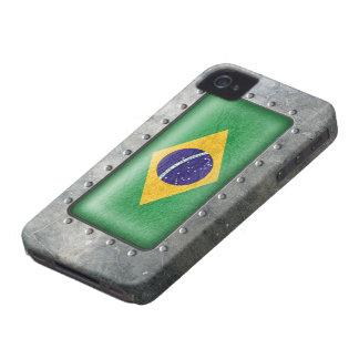 Industrial Brazilian Flag iPhone 4 Case-Mate Case