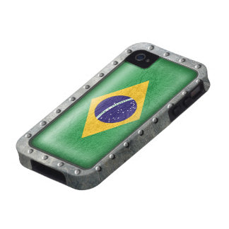 Industrial Brazilian Flag iPhone 4 Covers