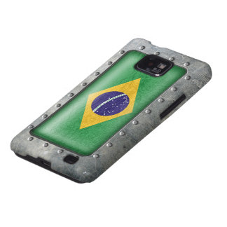 Industrial Brazilian Flag Samsung Galaxy SII Cover