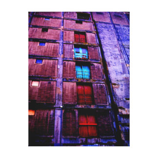 Industrial building Maashaven 1 Stretched Canvas Print