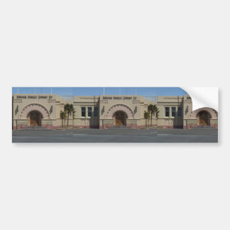 Industrial Building Of National Tobacco Company Bumper Stickers