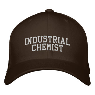 Industrial Chemist Embroidered Baseball Hat