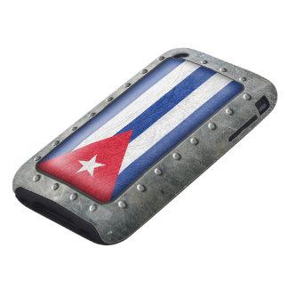 Industrial Cuban Flag iPhone 3 Tough Cases