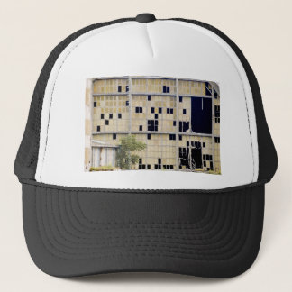 industrial decline trucker hat