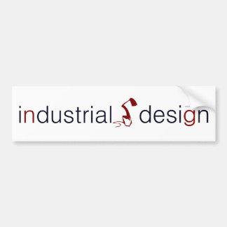 industrial design lamp graphic bumper sticker car bumper sticker