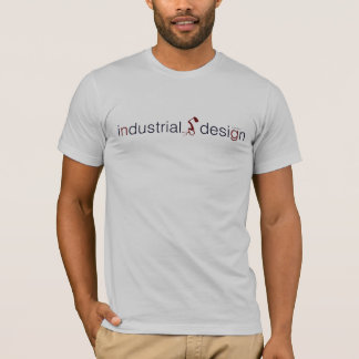 industrial design lamp graphic t shirt