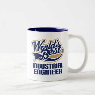 Industrial Designer Gift (Worlds Best) Two-Tone Coffee Mug