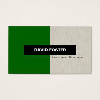 Industrial Designer - Simple Elegant Stylish Business Card
