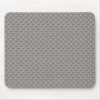 Industrial Diamond Metal Plate Mouse Pad