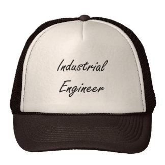 Industrial Engineer Artistic Job Design Trucker Hat