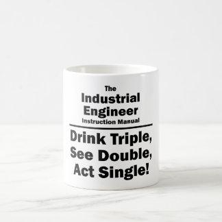 industrial engineer classic white coffee mug