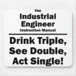 industrial engineer mouse pads
