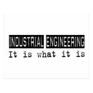 Industrial Engineering It Is Postcard