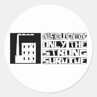 Industrial Engineering Survive Classic Round Sticker