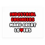 Industrial Engineers Make Great Lovers Post Cards
