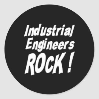 Industrial Engineers Rock! Sticker