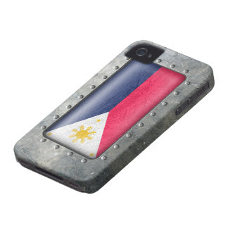 Industrial Filipino Flag iPhone 4 Cases