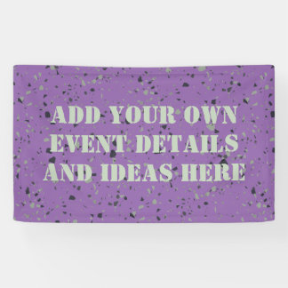 Industrial Floor pattern + your background & ideas Banner