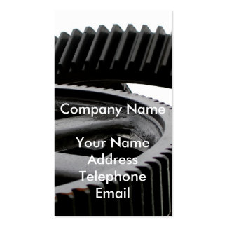 Industrial Gears Double-Sided Standard Business Cards (Pack Of 100)