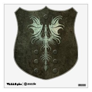 Industrial Gothic Dragon Wall Sticker