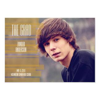Industrial Grad-Goldenrod Card