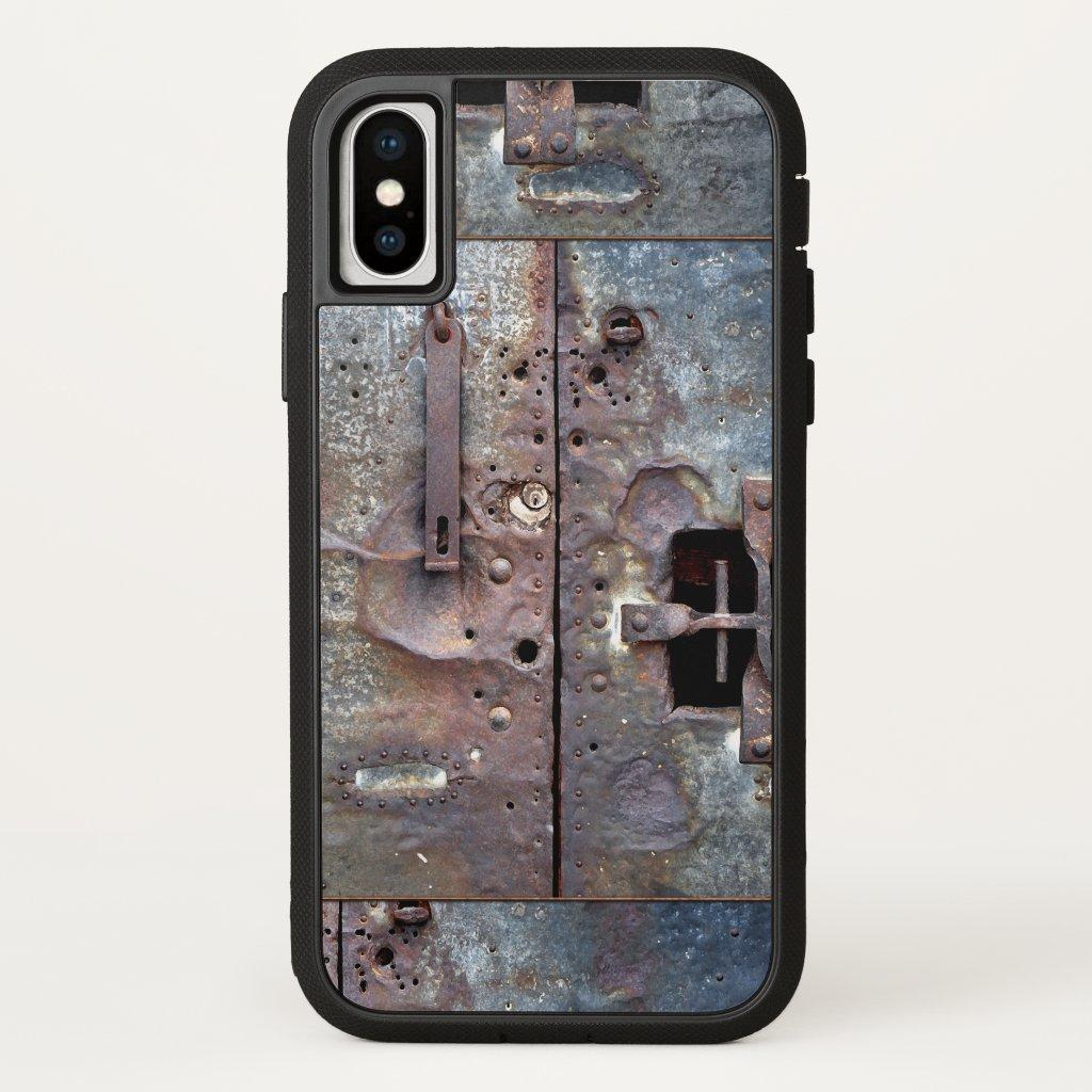 Industrial Grunge Metal Door Phone Case