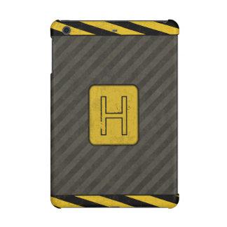Industrial Grunge Monogram iPad Mini Retina Case