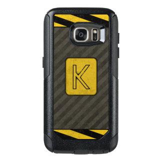 Industrial Grunge Monogram OtterBox Samsung Galaxy S7 Case