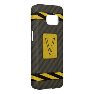 Industrial Grunge Monogram Samsung Galaxy S7 Case