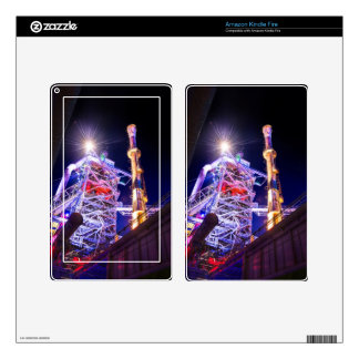Industrial HDR photography - Steel Plant 1 Decal For Kindle Fire