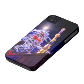 Industrial HDR photography - Steel Plant 1 iPhone 4 Cover