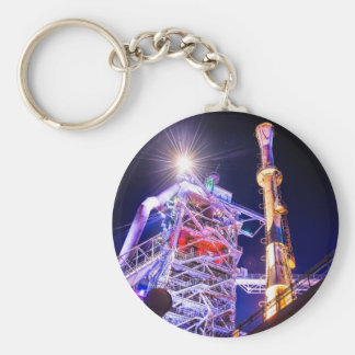Industrial HDR photography - Steel Plant 1 Keychain