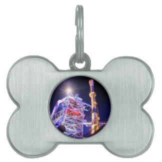 Industrial HDR photography - Steel Plant 1 Pet ID Tags
