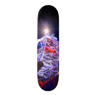 Industrial HDR photography - Steel Plant 1 Skateboard Deck