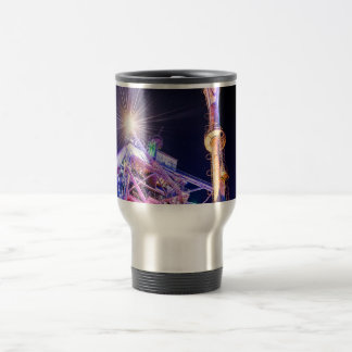 Industrial HDR photography - Steel Plant 1 Travel Mug