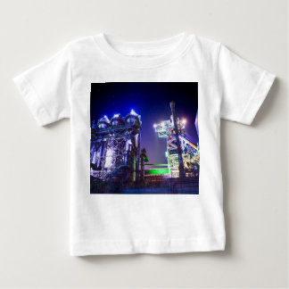 Industrial HDR photography - Steel Plant 2 Baby T-Shirt