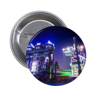 Industrial HDR photography - Steel Plant 2 Button