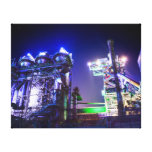 Industrial HDR photography - Steel Plant 2 Gallery Wrapped Canvas